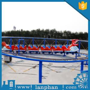 Amusement Equipment Sliding Dragon Small Mini Roller Coaster for Sale