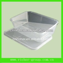 pp plastic food tray/container/box for cake/bread/sushi/sandwich packing