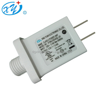 1W~9W ip44AC/DC Switching power supply universal travel christmas trees adapter with UL Cul certifiation