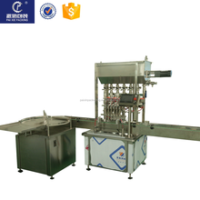 Automatic small bottle cream filling capping system with best quality