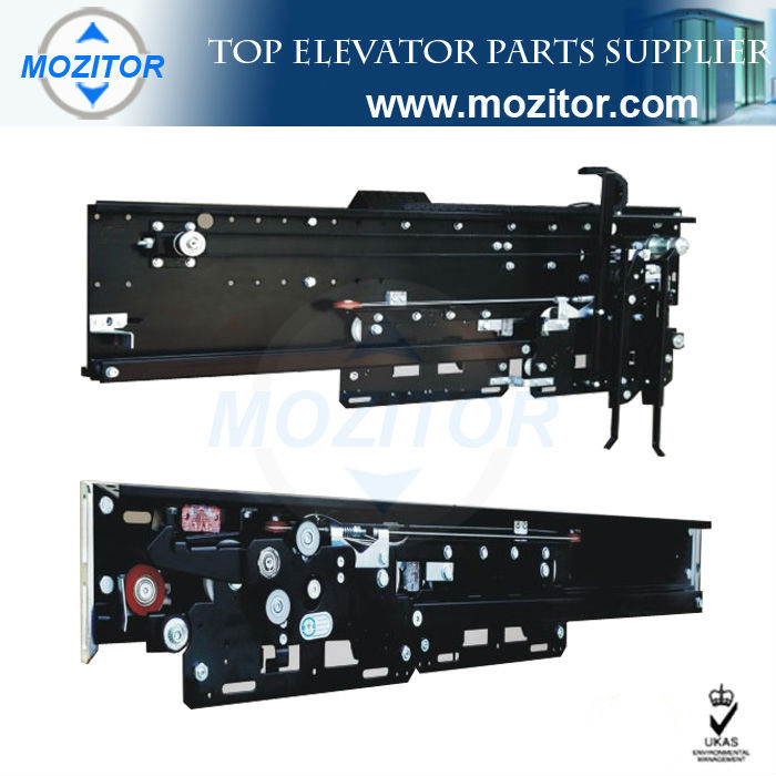 Elevators motors and landing doors