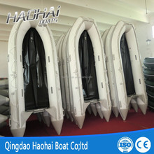 4.3m aluminium floor rowing inflatable boats for sale