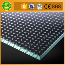 2017 Hot Excellent High quality sports flooring tempered laminated glass price
