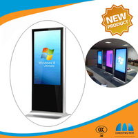 2015 Most Popular ! Floor standing 42 inch super thin cheap touch led computer monitor with windows7