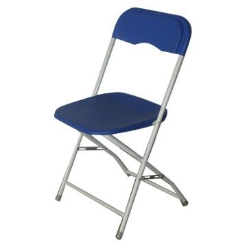 Used Leisure Metal Leg Plastic Folding Chair Wholesale