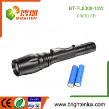 Hot Sale High Power Emergency Outdoor Used Metal Cree led tactical flashlight mount