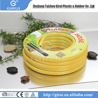 Trustworthy china supplier yellow pvc flexible industry rubber garden hose