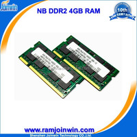 Wholesale UK 256mb*8/16c ram memory 4gb ddr2 sodimm 800mhz accept paypal