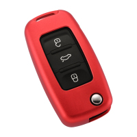 New Arrival Factory Direct Replacement 3 Button Car Remote Fiip Key Cover For Volkswagen For VW Key Shell Case
