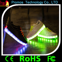 childeren adult shoes with lights sepatu led