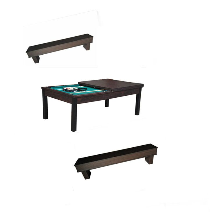KBL-B128 dining pool table with bench