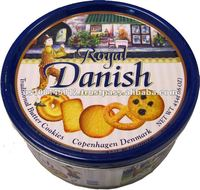 ROYAL DANISH BUTTER COOKIES
