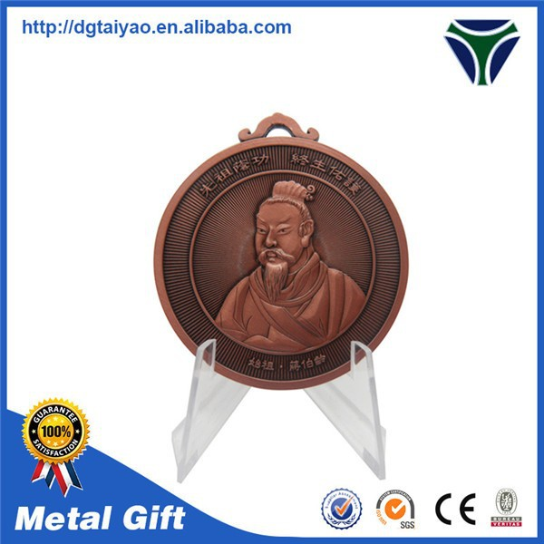Chiese feature brass custom metal coin maker