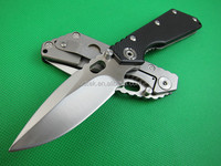 OEM Military Folding Pocket Knife steel utility folding knife