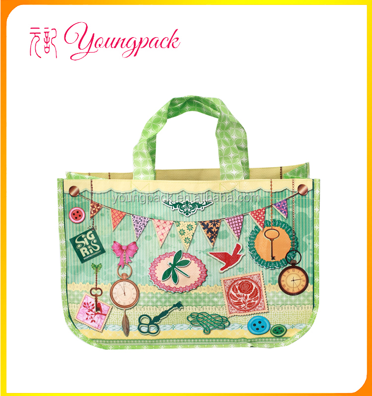 High Quality Eco-friendly Reusable PP Woven Bag for Shopping