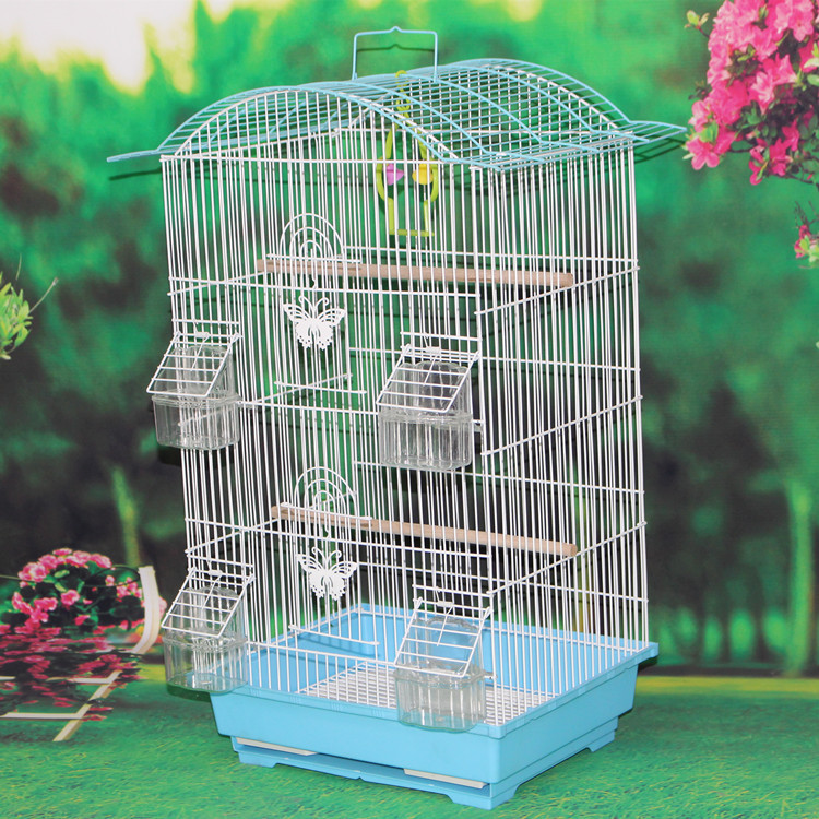 Professional Manufacturer Love Bird House With Wild Bird Feeder , Wholesale Cage Bird Nest Cages Quality Warranty