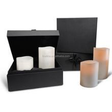 Custom clamshell candle packaging box