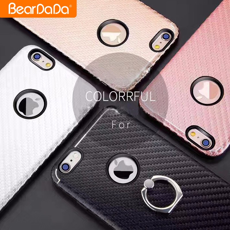 Best Selling carbon fiber mobile phone cover for iphone 7