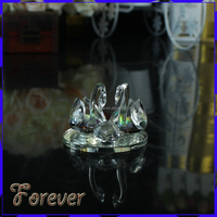 Clear Crystal Swan For Wedding Souvenirs Gifts Wedding Favors