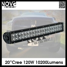 Accessories Light Bar Dual Row 20 Inch 3D Optic Lens Offroad Led Light Bar