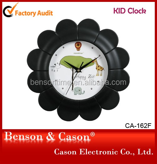 Casontimer Kid Modern Wall Clock with Windmill