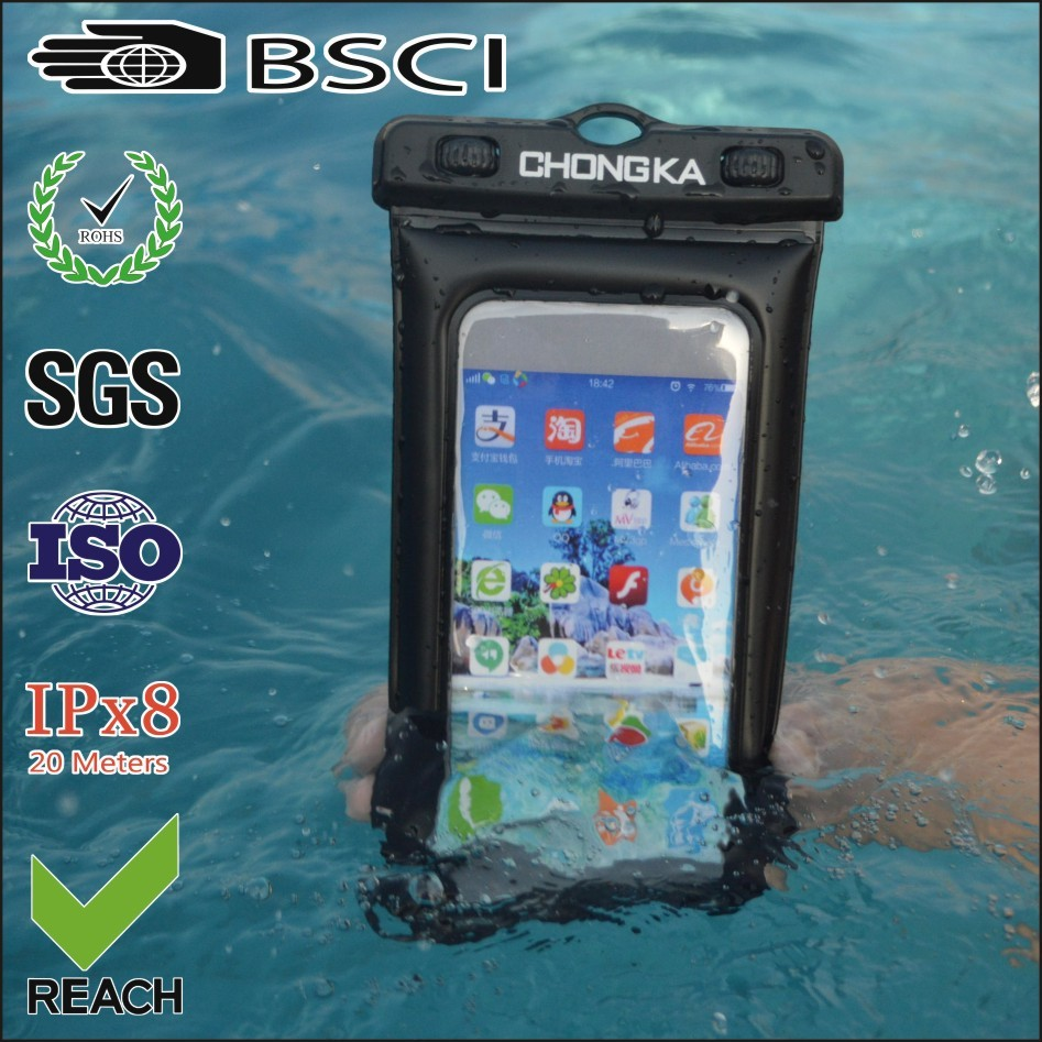 Newest waterproof mobile phone case for samsung note 3