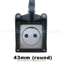 Price Manual die face cutter die round cutter Standard Photo Cutter 43mm