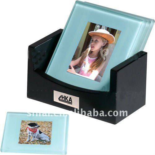 Souvenir Gift Photo Glass Coaster
