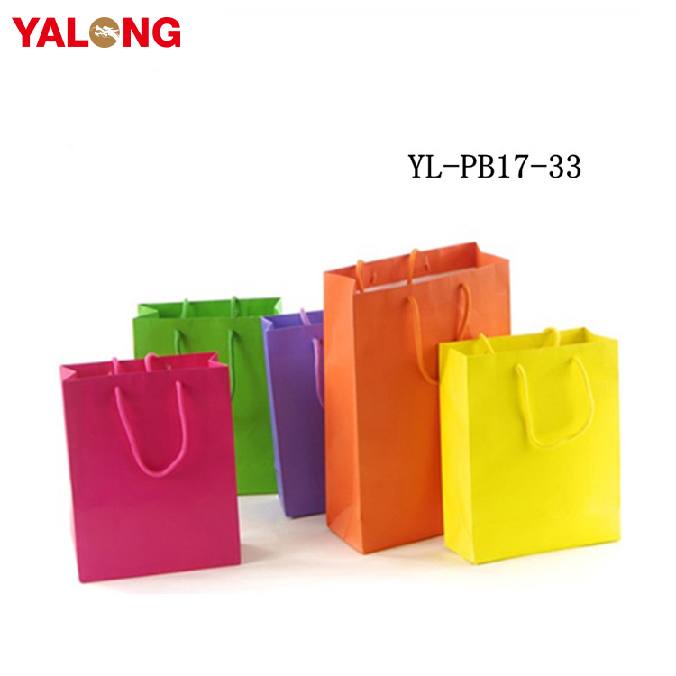 Top Sale Solid Color Bags Paper