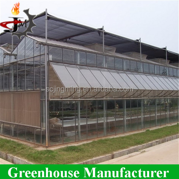 Build a professional winter greenhouse