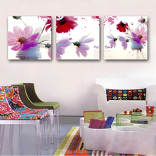 Custom home goods wall decorative canvas fabric painting