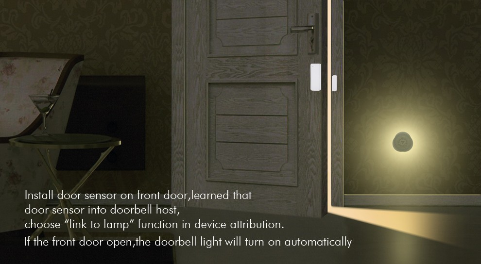 new home doorbell support 10 kinds of music ring & Android+IOS APP control buletooth doorbell