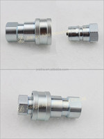 ISO 7241-1B Close Type Pneumatic And Hydraulic Quick Coupling