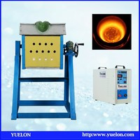 china Medium frequency small smelting furnace