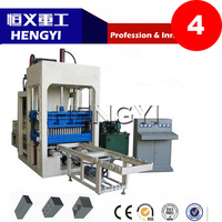 Advanced technology and reliable performance german concrete block making machine(QT4-15)