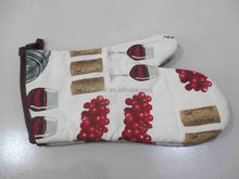 Good quality promotional silicon professional oven mitts