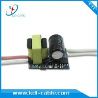 3*1W LED drive power supply for E27 GU10 lamp