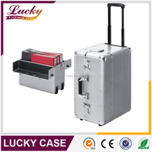 Wholesale high grade professional laptop trolley case with wheels
