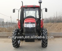 cab tractor 90hp farming tractor for sale