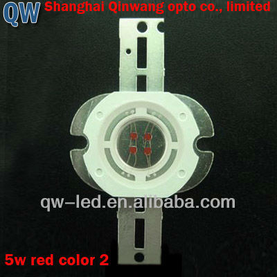 5w deep red high power led 660-670nm for plant growing