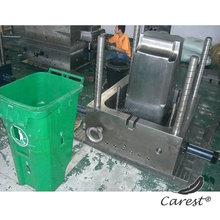 High quality injection mold making outdoor trash can