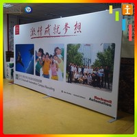 Fast install portable exhibition booth system for trade fair