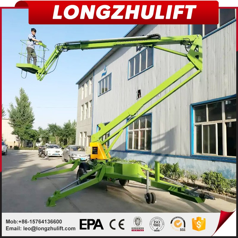 Factory sell high quality towable articulating boom lifts