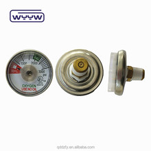 Fire extinguisher tank small pressure gauge