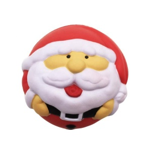 wholesale CA pro 65 EN711-2-3 Reach ASTM F963 christmas pu anti custom stress squishy ball santa claus