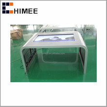 HQ42CSK-2 Indoor Application 42 Inch IR Multi Touch LCD Touch Table Android WIN OS for business center and hotel management