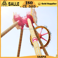 magnetic pendulum rides gyro swing amusement park rides rent