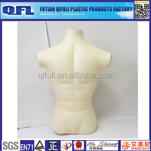 Inflatable Muscle Male Mannequin, Upper Body Male Mannequin