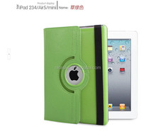 360 Degrees Rotating Leather Stand Case for ipad mini 1 2 3