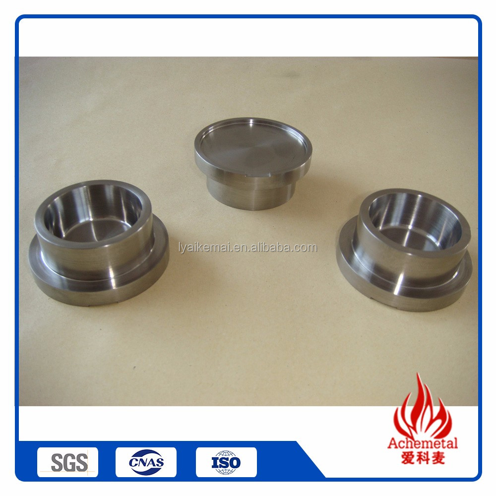 China Wholesale Top Quality molybdenum crucible for rare earth smelting crucible furnace melting gold